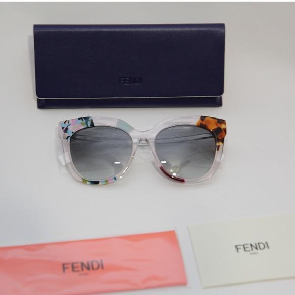 0ee6c1ff6cf41 FENDI - Jungle FF0179S Geometric Sunglasses